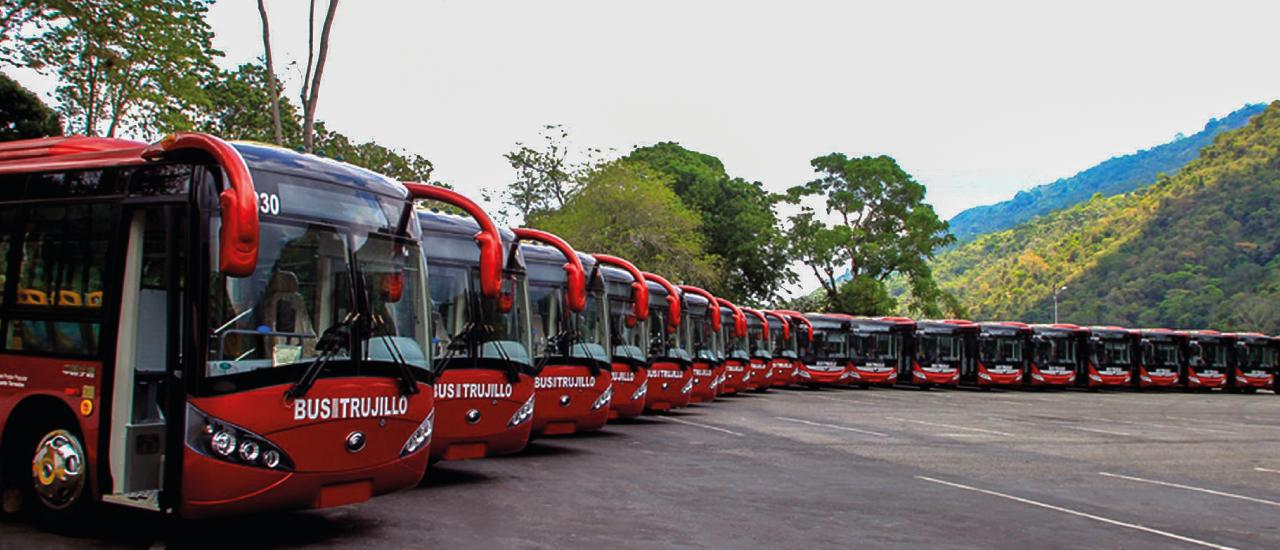 Renovación de la flota del transporte público de pasajeros